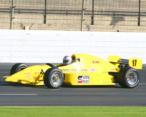 INDY-STYLE CAR Drive, 5 Minute Time Trial - Chicagoland Speedway