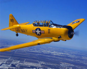 Aerobatic Flight Chicago, T-6 Texan - 30 Minutes