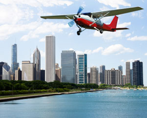 Downtown Adventure Flight Lesson - Chicago