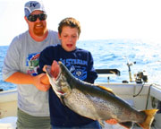 Fishing Charter Chicago, up to 4 people - Weekday 6 Hours