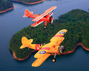 Biplane Scenic Flight Atlanta - 45 Minute Flight