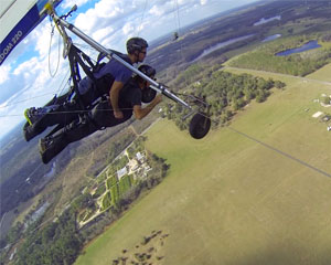 Hang Gliding Orlando - 2,000 ft  Flight