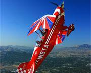 Aerobatic Flight Lesson, San Francisco - 30 Minute Flight