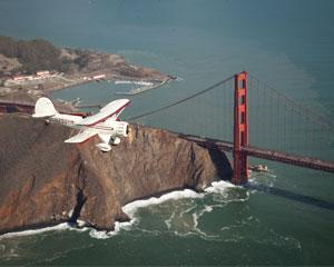 Biplane Flight for 2, Downtown San Francisco - 1 Hour Flight