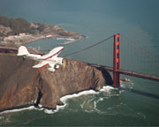 Biplane Flight for 2, Downtown San Francisco - 1 Hour Flight