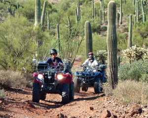 ATV Phoenix and Tuscon Guided Tour, Box Canyon