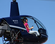 Helicopter Flight Lesson, Whiteman Airport - Los Angeles