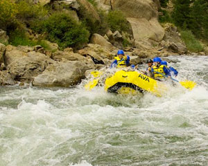 Whitewater Rafting Numbers Half Day and Zip Line Trip, Granite - Full Day