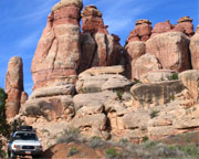 Arches Fiery Furnace Hike and 4x4 Tour, 5 Hours