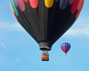 Hot Air Balloon Ride NJ, Private Basket - 1 Hour Flight