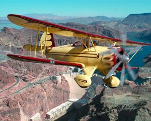 Waco Scenic Flight with Aerobatics, Las Vegas - 1 Hour Flight