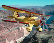 Waco Scenic Flight with Aerobatics, Las Vegas - 1 Hour Flight