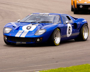 Ford GT40 5 Lap Drive - Houston Grandsport Speedway