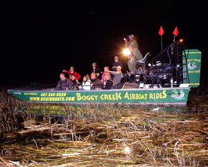 Orlando Airboat Ride, Night Tour - 1 Hour