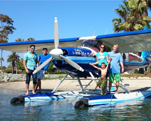 Seaplane Whale Watching and Coastal Scenic Flight, 20 Minutes - San Diego