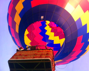 Hot Air Balloon Ride Baltimore, Private Basket - 1 Hour Flight