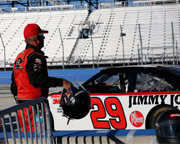 Rusty Wallace Stockcar Drive, 10 Lap Time Trial - Charlotte Motor Speedway