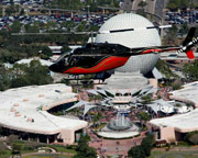 Helicopter Ride Kissimmee, Disney and Seaworld Tour - 15 Minutes