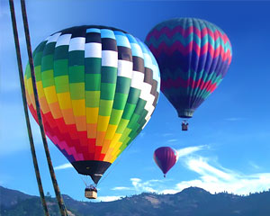 Hot Air Balloon Ride Napa Valley - 1 Hour Flight with Champagne Breakfast