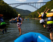 Whitewater Rafting West Virginia, Upper New River - 6 hours