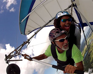 Hang Gliding Orlando,  Mile High Flight - 5200ft