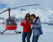 Helicopter Tour Alaska, Anchorage - 1 Hour with Glacier Landing
