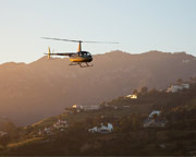Private Helicopter Ride Los Angeles - 30 Minute Beach Tour