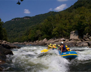 Whitewater Rafting West Virginia, Lower New River Peak Rates - 6 hours