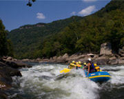 Whitewater Rafting West Virginia, Lower New River Regular Rates - 6 hours