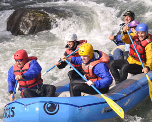 Whitewater Rafting Seattle, Tieton River - Half Day