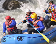 Whitewater Rafting Seattle, Tieton River - Half Day