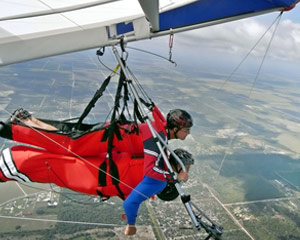 Hang Gliding Clewiston - 10 Minute Flight
