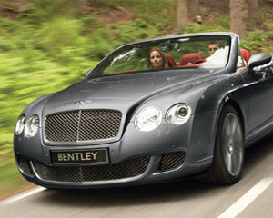 Bentley GTC Convertible Rental, 24 Hours - Miami