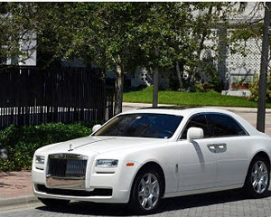 Rolls-Royce Ghost Rental, 24 Hours - Miami