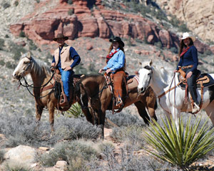 Wild West Horseback Riding Las Vegas - Lunch Ride