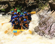 Whitewater Rafting Denver, Lower Canyon of Clear Creek 1/2 Day - Advanced