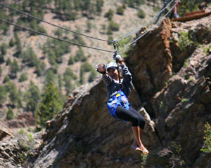 Ziplining Denver, Idaho Springs - Half Day