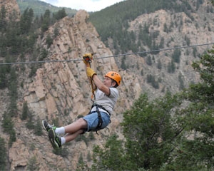 Ziplining Denver, Granite - Half Day