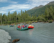 Alaskan Raft Trip, Scenic Float - Half Day