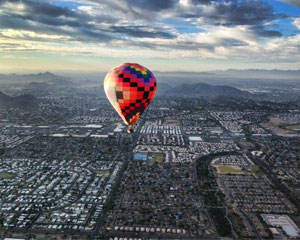 Hot Air Balloon Ride Scottsdale, Private Basket - 1 Hour Flight