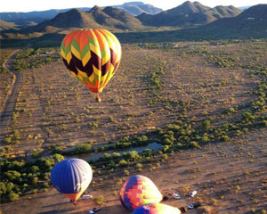 Hot Air Balloon Ride North Phoenix - 1 Hour Flight