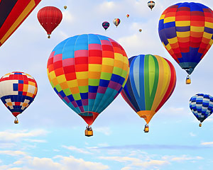 Hot Air Balloon Ride Albuquerque, Balloon Fiesta Flight (October 6th-14th Only) - 1 Hour Flight