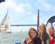 San Francisco Bay Sailing Tour, 6 Passengers - 4 Hours