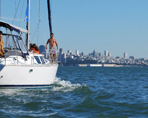 San Francisco Bay Sailing Tour , Coastal Cruise - 4 Hours