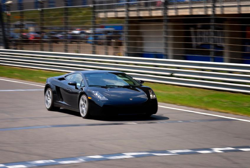 Lamborghini Gallardo LP560-4, 3 Lap Drive, Driveway Motorsports Track - Austin