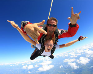 Skydive Hollister - 18,000ft Jump