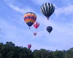 Private Hot Air Balloon Ride Nashville - 1 Hour Flight