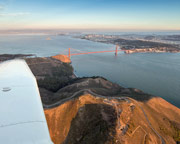 Golden Gate Scenic Plane Flight, San Francisco Bay Area  - 50 Minutes
