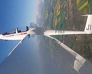 Glider Aerobatic Flight, Hollister - 30 Minutes