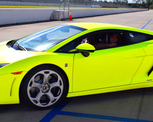Lamborghini Gallardo Drive, 3 Laps - Palm Beach International Raceway